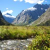 Cycle Touring the Central South Island via Queenstown to Milford Sound