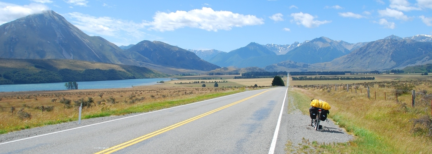 Cycle through the South Island of New Zealand