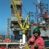 Working Offshore in the Oil Industry on a Jackup Drilling Rig
