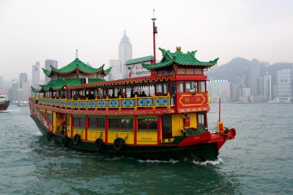 Hong Kong Habour ferry